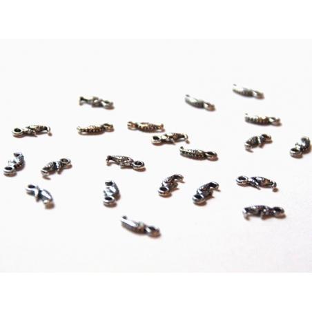 Acheter 1 Breloque hippocampe - argenté - 0,19€ en ligne sur La Petite Epicerie - 100% Loisirs créatifs