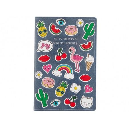 Carnet avec planche de 24 stickers Sass&Belle - 1