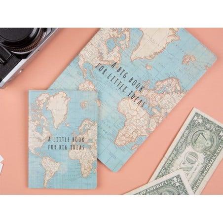 Acheter Carnet - Vintage map - 4,49€ en ligne sur La Petite Epicerie - Loisirs créatifs