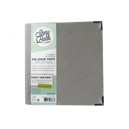 Acheter Album classeur à customiser 6*8 - avec pochettes transparentes - 15,79€ en ligne sur La Petite Epicerie - Loisirs cr...