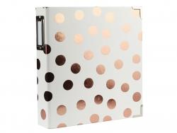 Album classeur -  Gros pois rosegold  6*8  avec pochettes transparentes Kesi art - 2
