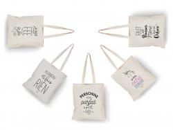 """Acheter Tote bag licorne """"Je suis la princesse des licornes"""" - 9,99€ en ligne sur La Petite Epicerie - 100% Loisirs créatifs"""