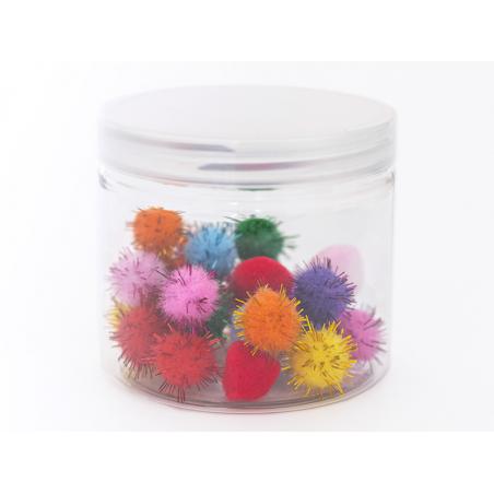 Acheter Bocal en plastique 200mL - couvercle plastique transparent - 1,99€ en ligne sur La Petite Epicerie - 100% Loisirs cr...