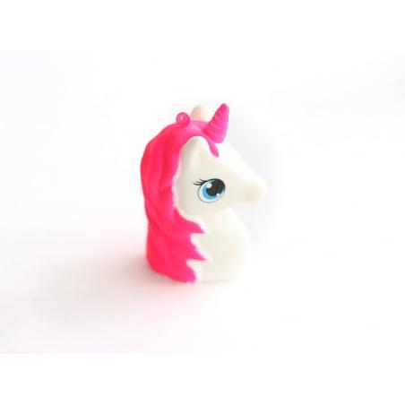Squishy licorne rose fluo  - 3