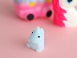 Acheter Mini squishy Licorne bleue - anti stress - 1,99€ en ligne sur La Petite Epicerie - 100% Loisirs créatifs