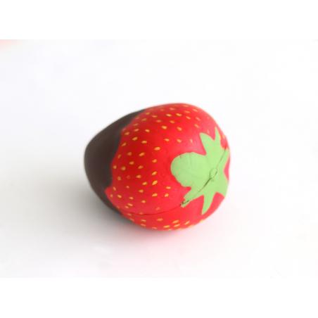 Acheter Gros squishy fraise, nappage chocolat - anti stress mignon - 5,99€ en ligne sur La Petite Epicerie - 100% Loisirs cr...