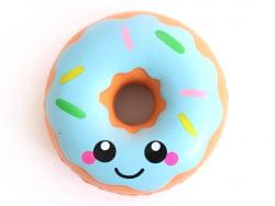 Squishy donut bleu kawaii  - 3