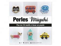 Perles miyuki - tissages peyote Le temps apprivoisé  - 1