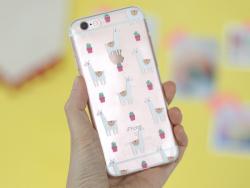 Coque Iphone 7 / 8 - Lamas et Cactus  - 4