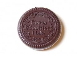 Miroir cookie - chocolat noir