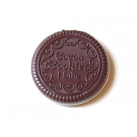 Miroir cookie - chocolat noir  - 1