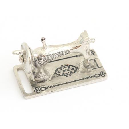 Acheter Machine à coudre argentée miniature - 9,99€ en ligne sur La Petite Epicerie - Loisirs créatifs