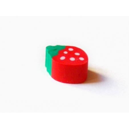 Small eraser - strawberry