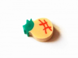 Small eraser - pineapple