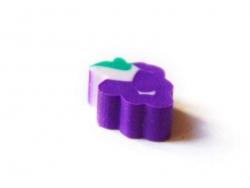 Small eraser - grape