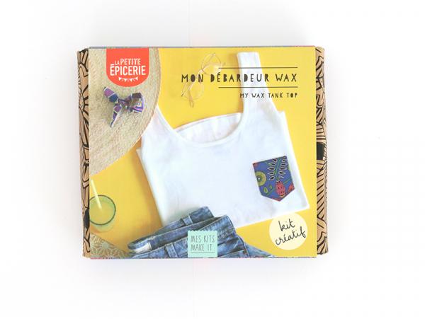 Acheter Kit MKMI - Mon débardeur wax- Mes kits Make It - 16,99€ en ligne sur La Petite Epicerie - 100% Loisirs créatifs