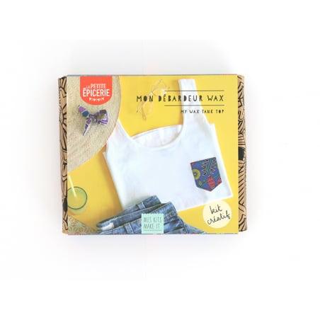 Acheter Kit MKMI - Mon débardeur wax- Mes kits Make It - 16,99€ en ligne sur La Petite Epicerie - Loisirs créatifs