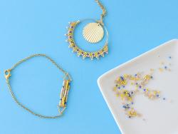 Acheter Kit MKMI - Mes bijoux en brickstitch - Mes kits Make It - 16,99€ en ligne sur La Petite Epicerie - Loisirs créatifs