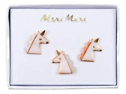3 pin's broches licornes Meri Meri - 1