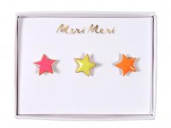 Acheter 3 pin's broches étoiles - 9,99€ en ligne sur La Petite Epicerie - 100% Loisirs créatifs
