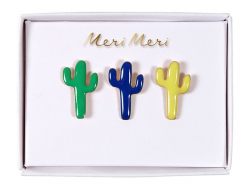 3 pin's broches cactus Meri Meri - 1