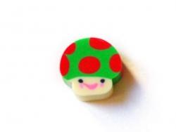 Small eraser - mushroom