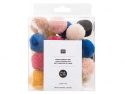 Set pompons - Nature Rico Design - 1