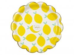 Acheter 8 assiettes en carton - motif citrons - 5,99€ en ligne sur La Petite Epicerie - Loisirs créatifs