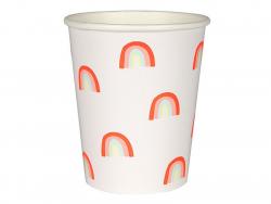 Acheter 12 gobelets en carton - arc-en-ciel - 5,49€ en ligne sur La Petite Epicerie - Loisirs créatifs