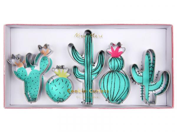 Acheter 5 emporte-pièces - cactus - 12,99€ en ligne sur La Petite Epicerie - Loisirs créatifs