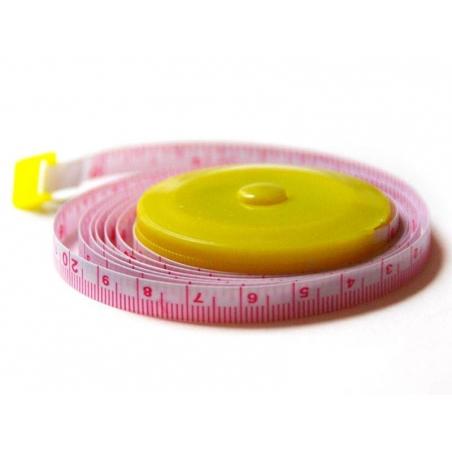 Mètre à couture - jaune  - 2