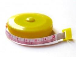 Measuring tape - yellow