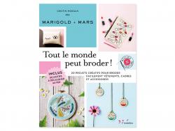 Acheter Livre Tout le monde peut broder - 19,90€ en ligne sur La Petite Epicerie - Loisirs créatifs