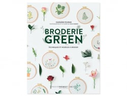 Livre Broderie Green Marabout - 1
