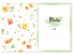 Mon agenda aquarelle 2019 MANGO - 6