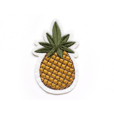 Écusson thermocollant - Ananas La petite épicerie - 1