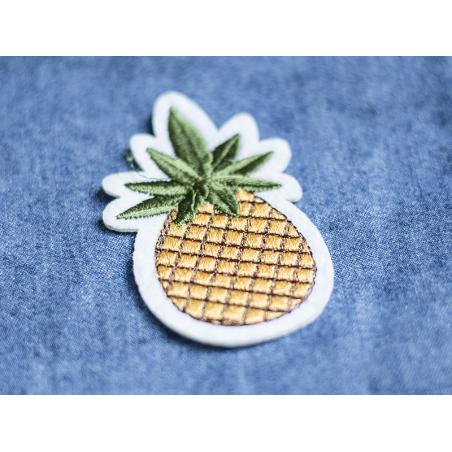 Écusson thermocollant - Ananas La petite épicerie - 3