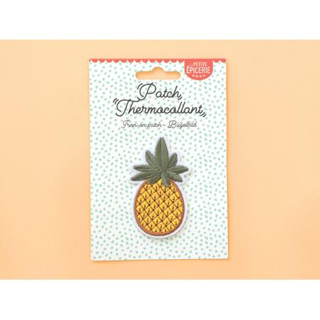 Écusson thermocollant - Ananas La petite épicerie - 2