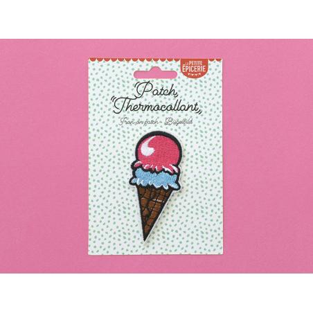 Écusson thermocollant - Cornet de glace La petite épicerie - 2