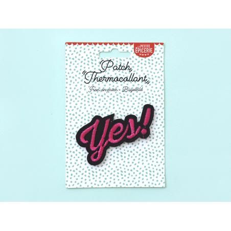 Écusson thermocollant - Yes ! La petite épicerie - 3