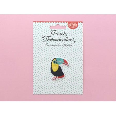 Écusson thermocollant - Toucan La petite épicerie - 2