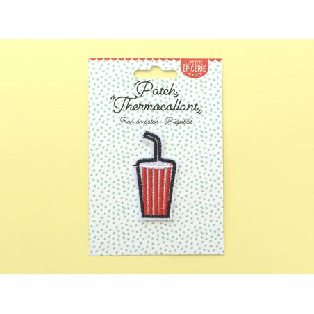 Écusson thermocollant - Soda américain La petite épicerie - 2