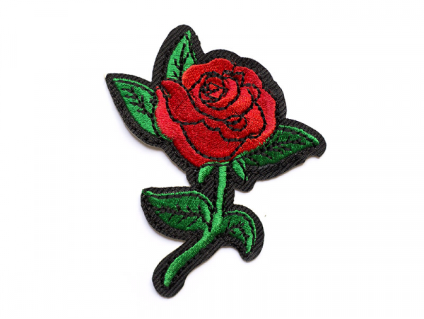 Écusson thermocollant - Rose style tattoo La petite épicerie - 1