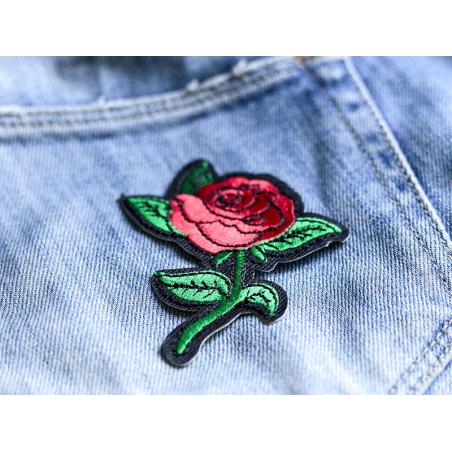 Écusson thermocollant - Rose style tattoo La petite épicerie - 5