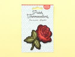 Écusson thermocollant - Rose style tattoo La petite épicerie - 2