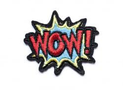"""Acheter Écusson thermocollant - """"WOW !"""" onomatopée - 2,99€ en ligne sur La Petite Epicerie - 100% Loisirs créatifs"""