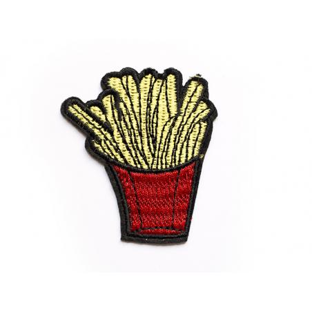 Écusson thermocollant - Barquette de frites La petite épicerie - 1