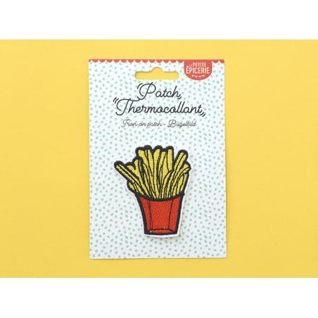 Écusson thermocollant - Barquette de frites La petite épicerie - 2