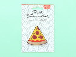 Acheter Écusson thermocollant - Pizza - 2,99€ en ligne sur La Petite Epicerie - 100% Loisirs créatifs