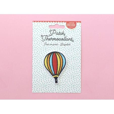Écusson thermocollant - Montgolfière La petite épicerie - 2